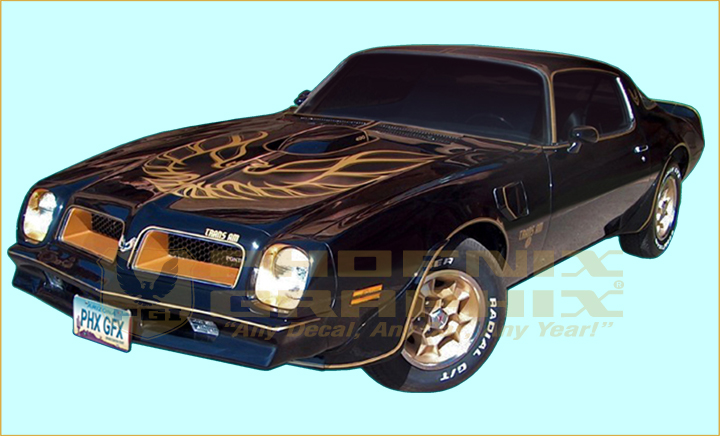 1976 Trans Am 54-Pieces Bandit Special Edition ULTIMATE ...