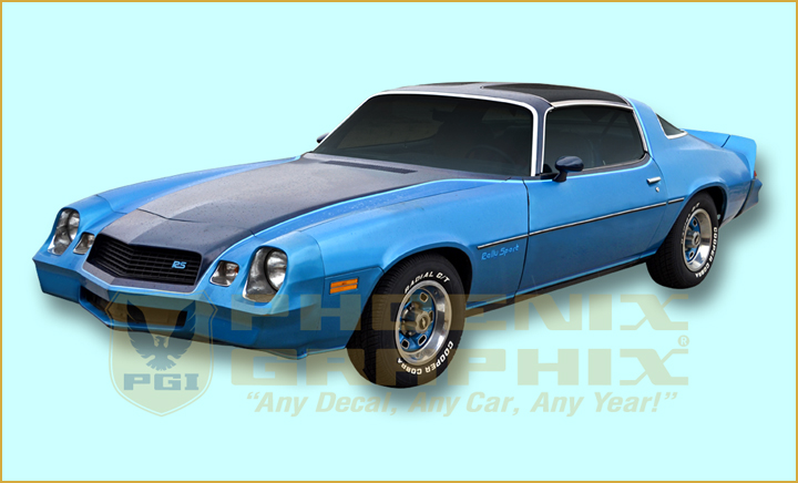 1980 Chevrolet Camaro Rally Sport Rs Decals Stripes Kit Ebay