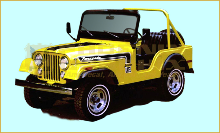 1974 Jeep Renegade Cj5 Decals Amp Stripes Kit Ebay