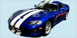 1996 Dodge Viper GTS Indy Pace Car Decal Kit