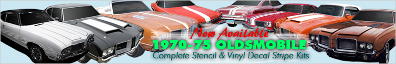 1970-1975 Oldsmobile 442 Stripe and Decal kits now available