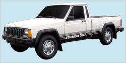 1987-88 Jeep Comanche Chief MJ