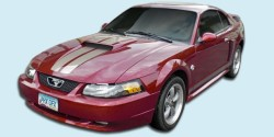 2004 40th Anniversary Mustang Stripe Kit