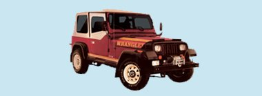 1987-88 Jeep Wrangler Decal & Stripe Kit